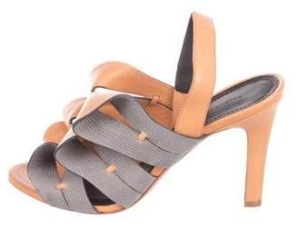 Balenciaga Bow Slingback Sandals