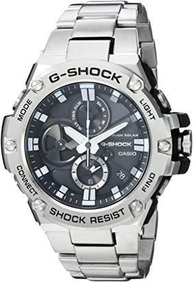 Casio Men's 'G-Shock' Quartz Resin and Stainless Steel Dress Watch