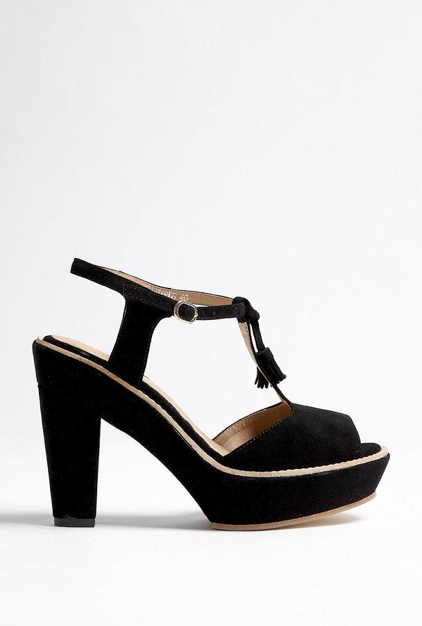 Beau Coops Richards T Bar Platform Shoe
