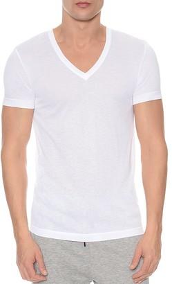 2(X)IST Mesh V-Neck Shirt $48 thestylecure.com