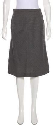 Chloé Wool A-Line Skirt