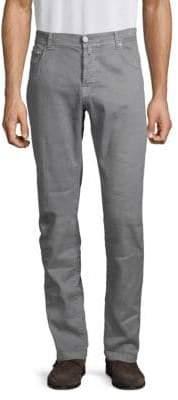 Kiton Linen Blend Slim Fit Jeans