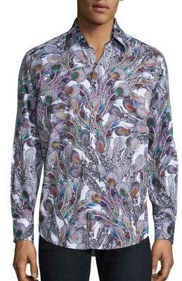 Robert Graham Goa Long Sleeve Shirt $268 thestylecure.com