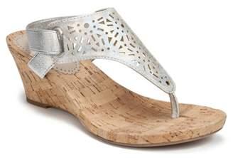 White Mountain Alise Wedge Sandal