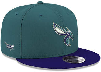 New Era Charlotte Hornets Basic Link 9FIFTY Snapback Cap