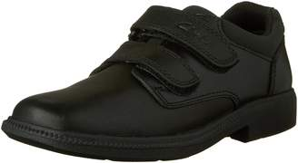 Clarks Boys Deaton Infant Velcro School Shoes