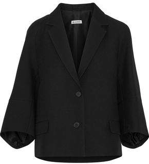 Jil Sander Wool And Silk-Blend Twill Blazer