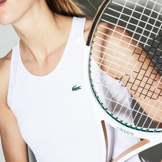 Lacoste (ラコステ) - バイカラー テクニカルジャージー レーサーバック テニス タンクトップ