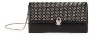 Alexander McQueen Skull Leather Wallet-On-Chain