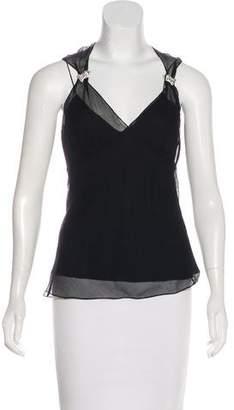 Ralph Lauren Sleeveless Silk Top