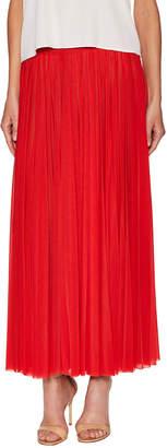 Celine Pintuck Pleated Maxi Skirt