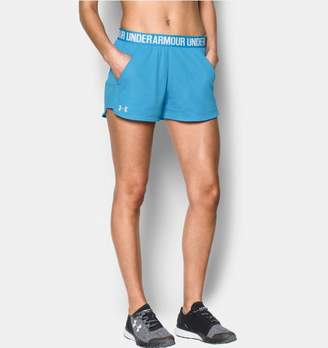 Under Armour Women's UA Play Up Shorts 2.0 - Mesh