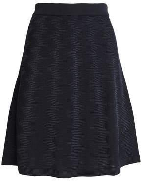 M Missoni Wool-Blend Jacquard Skirt