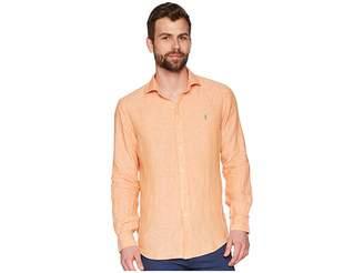 Polo Ralph Lauren Linen Spread Long Sleeve Sport Shirt Men's Clothing