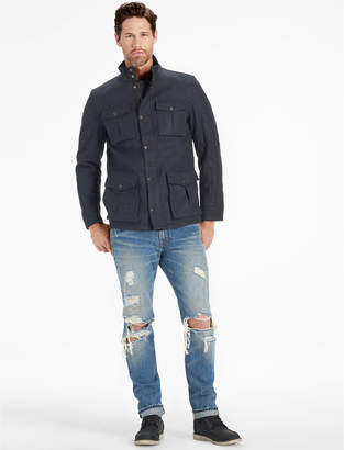Lucky Brand WOOL 4 POCKET UTILITY JACKET