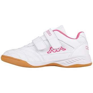 b67076168 Kappa Girls' Kickoff Multisport Indoor Shoes, (White/L ́Pink 1027),