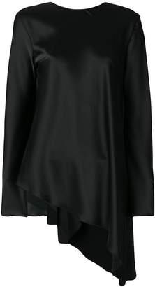 MSGM tie-back asymmetric blouse