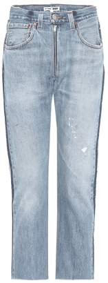 RE/DONE Relaxed Zip Crop jeans