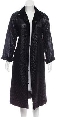 Givenchy Quilted Long Coat