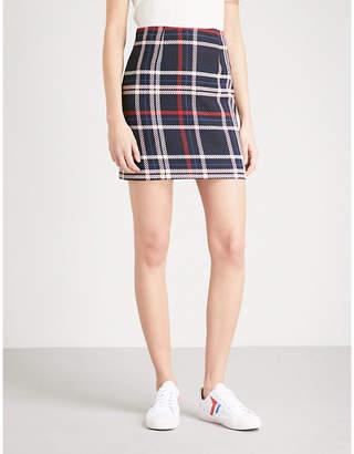 Claudie Pierlot Checked woven skirt