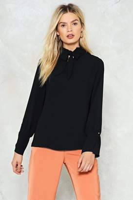 Nasty Gal Pop Quiz Blouse