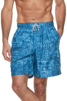 Croft & Barrow Men's Aloha Swim Trunks