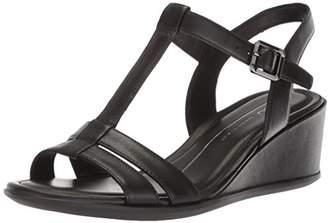 Ecco Women's Women's Shape 35 T-Strap Wedge Sandal
