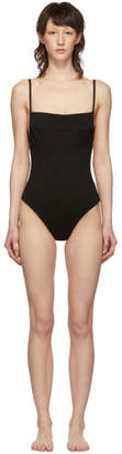 Haight Black Crepe Marcella One-Piece Swimsuit
