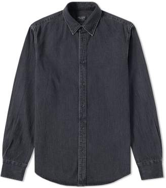 Rag & Bone Heavy Washed Denim Shirt