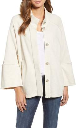 Caslon Calson(R) French Terry Swing Jacket