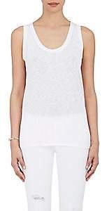 Barneys New York Women's Cotton-Blend Tank Top - White