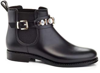 HENRY FERRERA Henry Ferrera Womens Marsala Flat Heel Slip-on Rain Boots