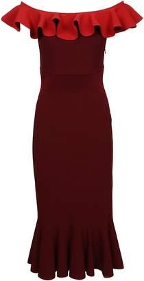 Alexander McQueen Mid-length Ruffled Dress