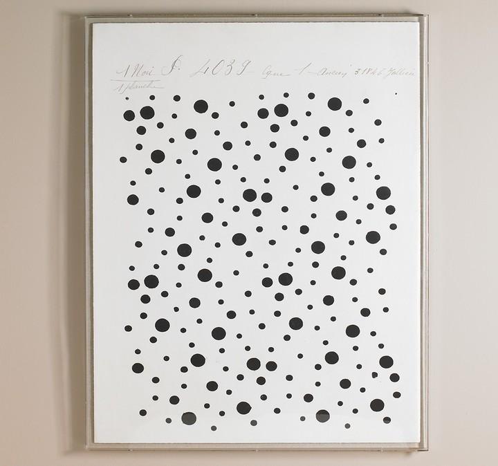 DwellStudio Black Dots Artwork