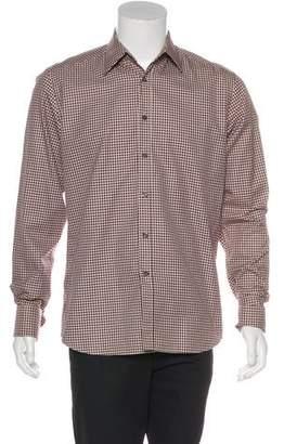 Prada French Cuff Shirt