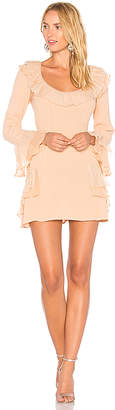 For Love & Lemons Evie Mini Dress