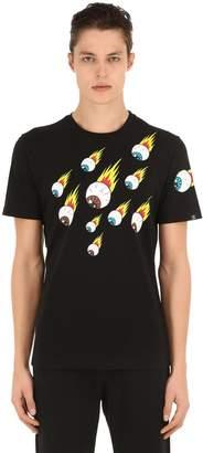 Hydrogen Eyes Storm Cotton T-shirt