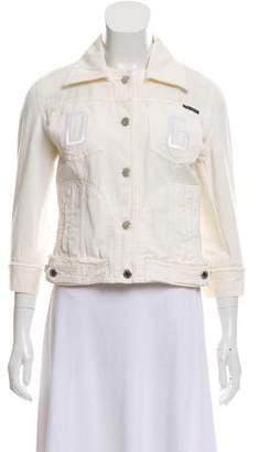 Dolce & Gabbana Embridered Denim Jacket