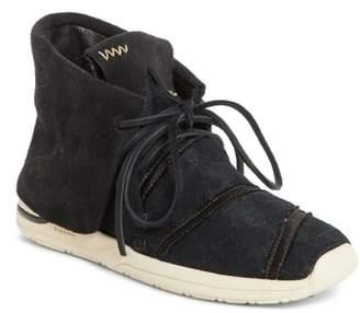 Visvim WMV Huron Lhamo Hi Folk Hidden Wedge Sneaker