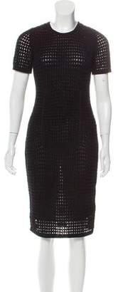 Alexander Wang Bodycon Knit Knee-Length Dress