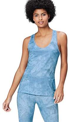 Active Wear Activewear Women's Printed Sports Vest,(Manufacturer size: X-Large)