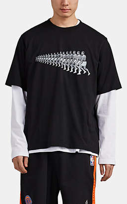 Marcelo Burlon County of Milan Men's Muhammad Ali Cotton T-Shirt - Black