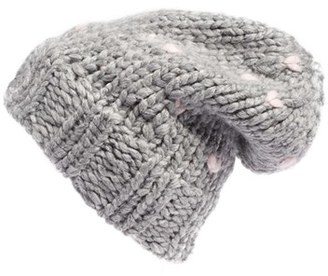 Women's Rebecca Minkoff Slouchy Beanie With Headphones - Grey $68 thestylecure.com