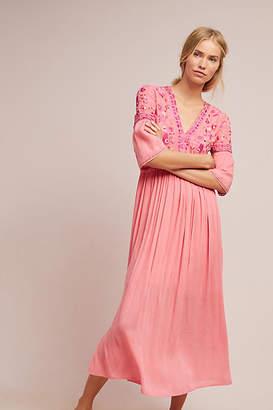 Bl-nk Ibneva Embroidered Maxi Dress