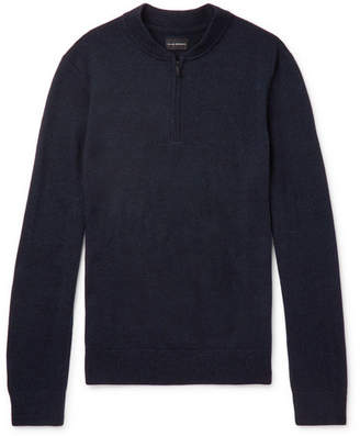 Club Monaco Merino Wool Half-Zip Sweater