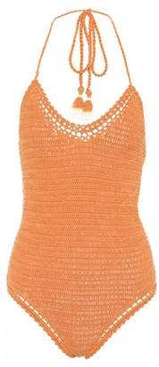 Essential crochet-knit swimsuit