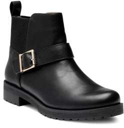 Vionic Mara Weather-Resistant Leather Booties