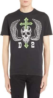DSQUARED2 Skull Graphic T-Shirt