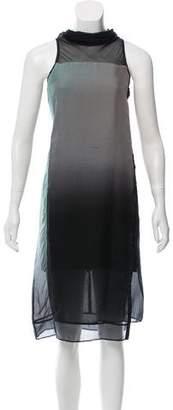 Helmut Lang Silk Midi Dress