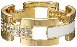 GUESS Wide Cuff Link Bracelet Bracelet